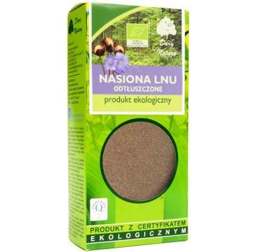 Dary Natury Ekologiczne Nasiona Lnu odtłuszczone 100g