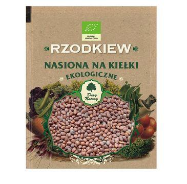 Dary Natury Ekologiczne Nasiona na kiełki Rzodkiew 30g