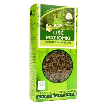 Dary Natury Herbatka ekologiczna Liść poziomki 25g