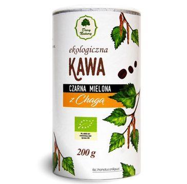 Dary Natury Kawa Ekologiczna Czarna Mielona z Chagą 200g