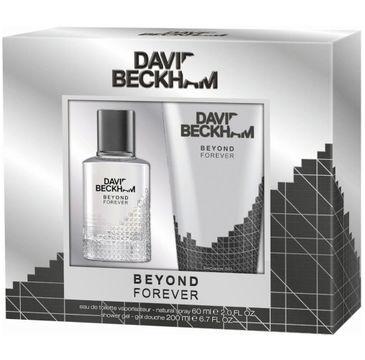 David Beckham Beyond Forever zestaw prezentowy woda toaletowa spray 60 ml + żel pod prysznic 200 ml