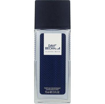 David Beckham Classic Blue Dezodorant w szkle 75 ml