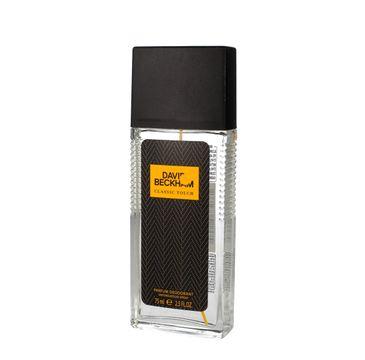 David Beckham Classic Touch dezodorant naturalny spray 75 ml
