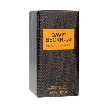 David Beckham Classic Touch woda toaletowa 40 ml