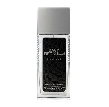 David Beckham Respect dezodorant w szkle naturalny 75 ml