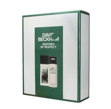 David Beckham Zestaw prezentowy Inspired By Respect deo spray 150 ml + deo atomizer 75 ml