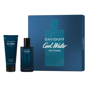 Davidoff Cool Water Intense Men zestaw woda toaletowa spray 75ml + żel pod prysznic 75ml