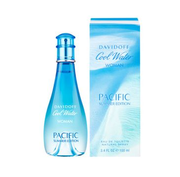Davidoff Cool Water Woman Pacific Summer Edition woda toaletowa spray 100ml