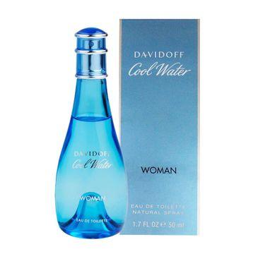 Davidoff Cool Water Woman woda toaletowa damska 50 ml