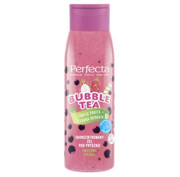Perfecta Bubble Tea skoncentrowany żel pod prysznic Exotic Fruits + Czarna Herbata (400 g)