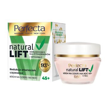 Perfecta –  Natural Lift przeciwzmarszczkowy krem do twarzy na dzień i noc 45+ (50 ml)