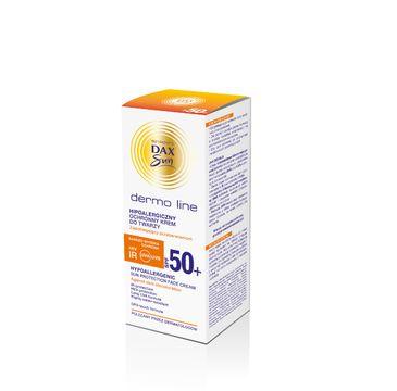 Dax Sun Dermo Line krem do twarzy ochronny SPF 50 hipoalergiczny 50 ml