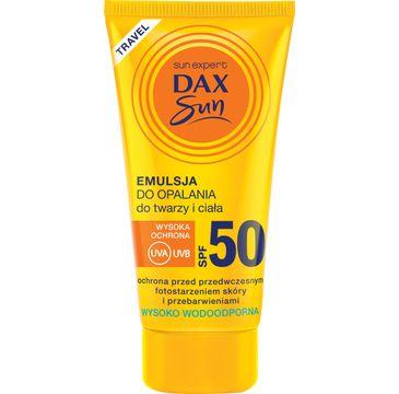 Dax Sun emulsja do opalania (do twarzy i ciała SPF 50 travel 50 ml)