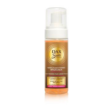 Dax Sun nawilżająca pianka brązująca do twarzy i ciała (160 ml)