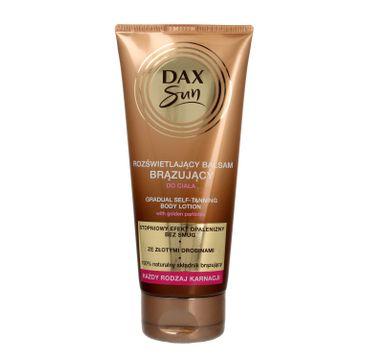 Dax Sun rozświetlający balsam brązujący do ciała - każdy rodzaj karnacji 150 ml