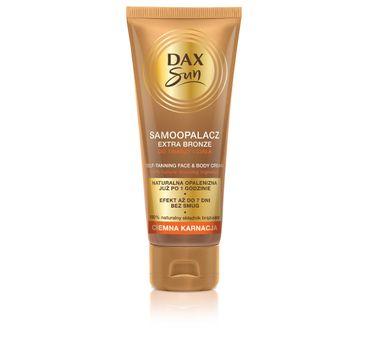 Dax Sun Samoopalacz do twarzy i ciała Extra Bronze - ciemna karnacja 75 ml
