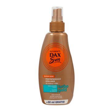 Dax Sun – Turbo Gold przyspieszacz do opalania spray (200 ml)