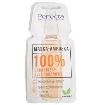 Perfecta – Maseczka Ampułka 100% organiczny olej arganowy (8 ml)