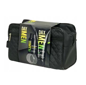 Dax Men – Zestaw prezentowy kosmetyczka+żel+krem do twarzy (1 szt.)