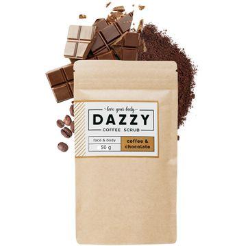 DAZZY Peeling kawowy do twarzy i ciała - Czekolada 50 g