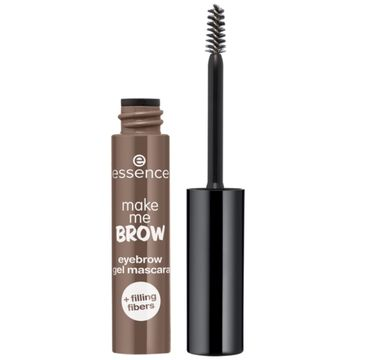 Essence – Make Me Brow Eyebrow Gel Mascara żelowa maskara do brwi 05 Chocolaty Brows (3.8 ml)