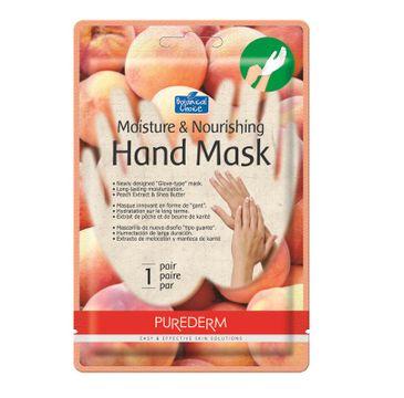 Purederm Moisture & Nourishing Hand Mask – maska na dłonie Brzoskwinia (1 szt.)