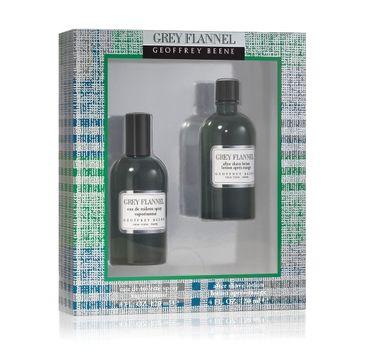 Geoffrey Beene – Grey Flannel zestaw woda toaletowa spray 120ml + woda po goleniu 120ml (1 szt.)