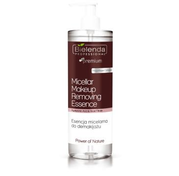 Bielenda Professional – Power Of Nature Micellar Makeup Removing Essence micelarna esencja do demakijażu (500 ml)