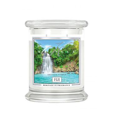 Kringle Candle – świeca zapachowa z dwoma knotami Fiji (411 g)