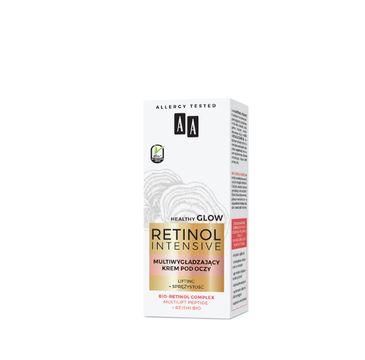 AA 鈥� Retinol Intensive multiwyg艂adzaj膮cy krem pod oczy lifting+spr臋偶ysto艣膰 (15 ml)