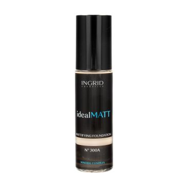 Ingrid – Ideal Matt nr 300A podkład matujący (30 ml)