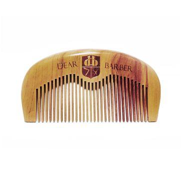 Dear Barber Beard Comb drewniany grzebień do brody