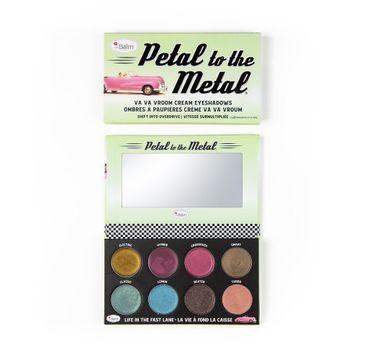 The Balm – Petal To The Metal Va Va Vroom Cream Eyeshadow Palette paleta cieni do powiek Shift Into Overdrive (10.5 g)