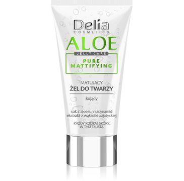 Delia Cosmetics Aloe Jelly Care Matujący Żel do twarzy (50 ml)
