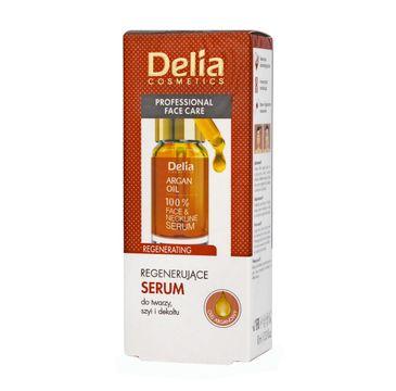 Delia Argan Care serum do twarzy regenerujące z olejkiem arganowym 10 ml