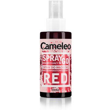 Delia Cameleo Spray&Go spray koloryzuj膮cy do w艂os贸w Red (150 ml)