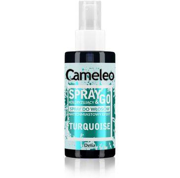 Delia Cameleo Spray&Go spray koloryzuj膮cy do w艂os贸w Turquoise (150 ml)