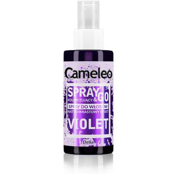 Delia Cameleo Spray&Go spray koloryzuj膮cy do w艂os贸w Violet (150 ml)