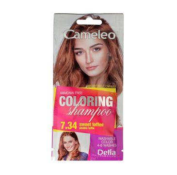 Delia Cameleo Szampon koloryzujący 7.34 Słodkie Toffi (40 ml)