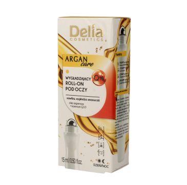 Delia Cosmetics Argan Care Q10 Roll-on pod oczy wygładzający  15ml