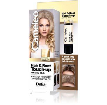 Delia Cosmetics Cameleo Hair&Root Touch-up korektor tuszujący odrosty i siwe włosy - słoneczny blond 1 szt.