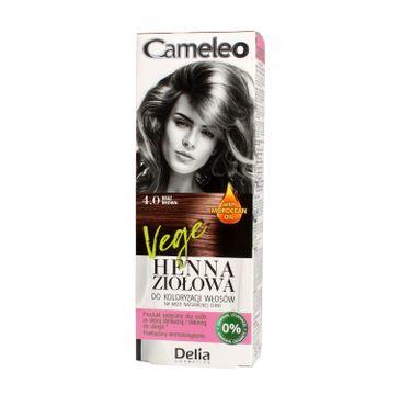 Delia Cosmetics Cameleo henna ziołowa nr 4.0 brąz 75 g