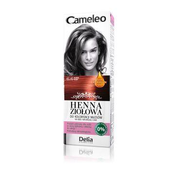 Delia Cosmetics Cameleo henna ziołowa nr 6.6 rubin (75 g)