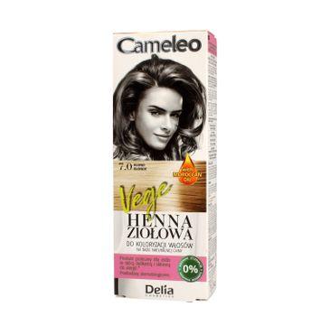 Delia Cosmetics Cameleo henna ziołowa nr 7.0 blond (75 g)
