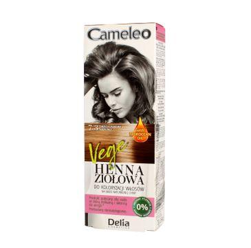 Delia Cosmetics Cameleo henna ziołowa nr 7.3 orzech laskowy (75 g)