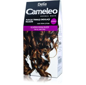 Delia Cosmetics Cameleo Herbal Wave płyn do trwałej ondulacji normal 50 ml