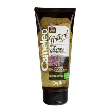 Delia Cosmetics Cameleo Natural Detox odżywka oczyszczająca do włosów z glinką (200 ml)
