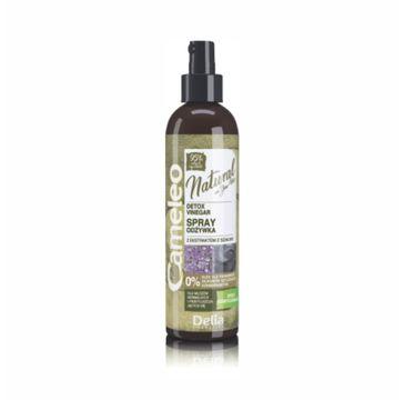 Delia Cosmetics Cameleo Natural Detox odżywka spray octowy oczyszczający 200 ml