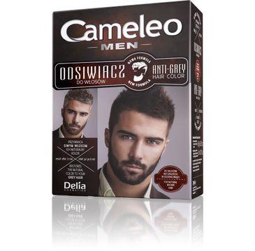 Delia Cosmetics Cameleo odsiwiacz dla mężczyzn do włosów naturalnych i brązowych 12 g