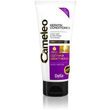 Delia Cosmetics Cameleo odżywka do włosów kręconych keratynowa 200 ml